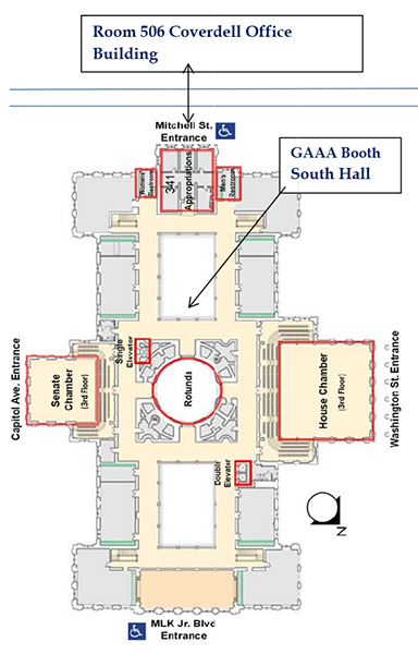 AA Day At The Capitol 2015  Georgia Academy Of
